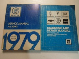 1979 Buick All Series Advanced Information Service Manual 2 Vol SET WORN WRITING - $70.63