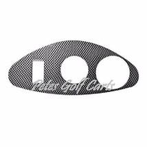 Ezgo Golf Cart Carbon Fiber Dash Cover Key Light Plate RXV Freedom  - $37.99
