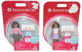 "American Girl Mini 2.5"" - Toy Figures 13 Pieces Mega Blocks New 2015 - $11.88"