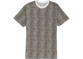 Supreme Hanes Leopard Tagless Tees 2 Pack Mens Sz Large S/S 2019 FREE SH... - £46.97 GBP