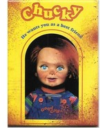 Child's Play Movie Chucky He Wants You As A Best Friend Refrigerator Mag... - $3.99
