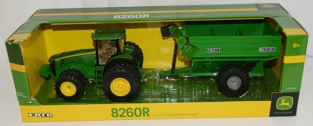 John Deere LP51303 Die Cast Metal Replica 8260R Tractor Grain Cart