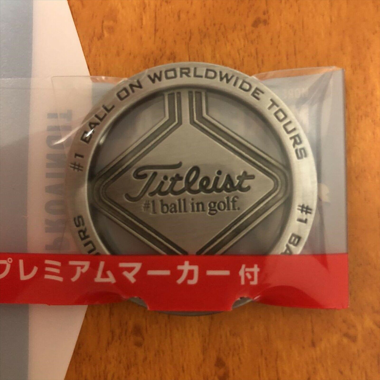 Primary image for Titleist Golf Ball Premium Marker 2019 ProV1 ProV1x Campaign NOT FOR SALE Rare F
