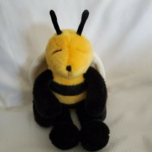 "Manhattan Toy Bumble Bee 16"" Plush Black Yellow Vintage Stuffed Toy 1999... - $34.64"
