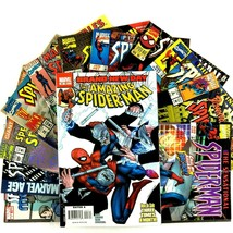12 Spider-Man Comic Book Lot VF NM Marvel Amazing Sensational Spectacula... - $19.75