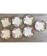 """Franciscan Desert Rose Pattern Salad Plates 8"""" New Backstamp Lot 7 Repla... - $49.49"""