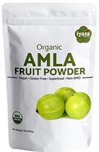 Organic Amla Fruit Powder,Amalaki Berry,Indian Gooseberry,Premium Qualit... - $6.99+