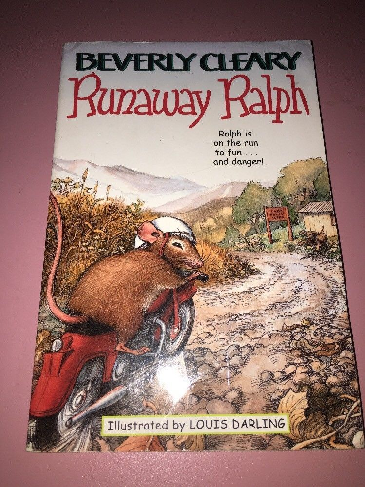 beverly cleary runaway ralph book report Fed up with his family, ralph hops onto his toy motorcycle (given to him by keith in the first book, the mouse and the motorcycle), and speeds down the road.