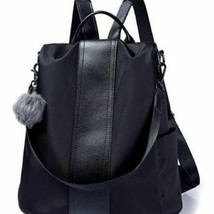 Large Soft, Durable, and Stylish Backpack in Black image 1
