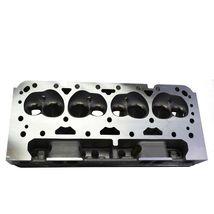 SBC Small Block Chevy GM Straight Plug Aluminum Cylinder Head Set 64cc 2.02/1.60 image 9