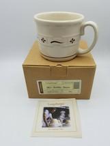 Longaberger Mug Souper Single Woven Traditions Red - $13.81