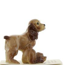 Hagen Renaker Miniature Dog Cocker Spaniel Papa and Pup Ceramic Figurine Set image 8