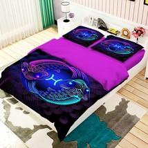3D Pisces 26 Bed Pillowcases Quilt Duvet Single Queen King US Summer - $102.84+
