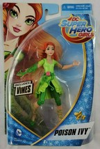"DC Super Hero Girls Poison Ivy w/ Vines 6"" Action Figure Mattel 2015 - $11.64"