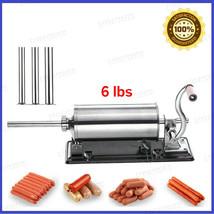Sausage Stuffer Filler Meat Maker Machine Stainless Steel Homemade Home ... - $90.60+