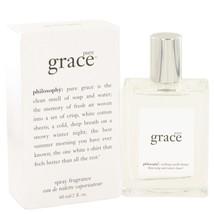 Pure Grace By Philosophy Eau De Toilette Spray 2 Oz 502628 - $52.81