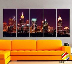 "Original by BoxColors XLARGE 30""x 70"" 5 Panels 30""x14"" Ea Art Canvas Pri... - $124.99"
