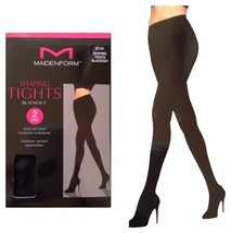 Maidenform Women's Shaping Tights 2 Pack Blackout - €8,41 EUR