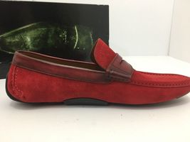 Magnanni Rafu 17987 Red Men's Loafer Size 41 US 8 M image 5