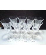 8 Cristal d'Arques Carthage Water / Wine Goblets ~ In Box - $34.95