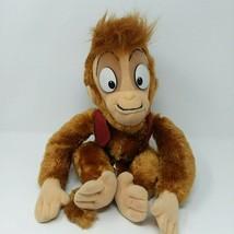 Vintage 1990s Disney Store Authentic Original Aladdin Abu Monkey Plush  - $28.01