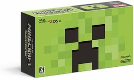 MINECRAFT NEW Nintendo 2DS LL CREEPER EDITION Game Console JAPAN OFFICIA... - $188.10