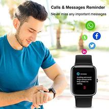 Smart Watch, Anbes Fitness Tracker with Heart Rate Sleep Monitor Step Calorie Co image 4