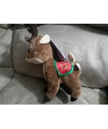 "2015 Santa's Reindeer DASHER New Licensed Plush NWT Tags 12"" Christmas Xmas - $9.99"