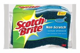 Scotch-Brite Non-Scratch Scrub Sponge, Great For Nonstick Cookware, 3-Sp... - $29.38