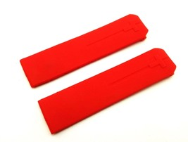Red Rubber Silicone Strap Band for Tissot Sport Watch T-Touch 21mm With ... - $16.90