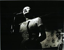 BILLIE HOLIDAY Autographed Authentic Signed Photo w/COA - 72630 - $1,125.00