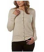 Kirkland Signature Ladies' Button Up Closure Soft Handfeel Cardigan (L, ... - $39.99