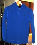 Youth Blue Fleece Hooded Sweatshirt Size L (10 - 12) - $15.00