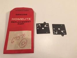 (1) Genuine Homelite 67370 Diaphram Pump - $7.75