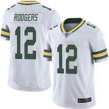 Packers #12 Aaron Rodgers White Men's Stitched 100th Season Vapor Limite... - $62.75