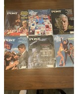 6 Vintage The Saturday Evening Post From December 2, 1967-January 25, 19... - $35.50