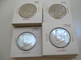 1976 Kennedy Half Dollar , Lot of 65 Coins - $123.75