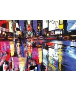 """Times Square Colors New York City Poster 36"""" x 24"""" FREE SHIPPING - $19.88"""