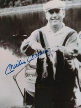 Vtg Autograph Signed Black White Photo Mickey Mantle, Billy Martin, Whitey Ford image 3
