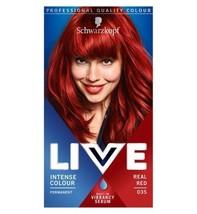 Schwarzkopf LIVE Intense Colour 035 Real Red Hair Dye - $17.36
