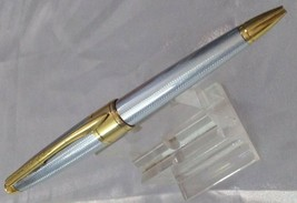CROSS APOGEE DIAMOND STEEL LUXURY BALLPOINT GOLD PLATED - $67.72