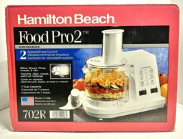 Hamilton Beach Food Pro 2 Food Processor New Old Stock - $150.00