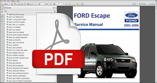 2004 ford explorer shop manual