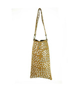 Dolce & Gabbana d&g long brown leather bag covered with Push Buttons Funky - $294.93