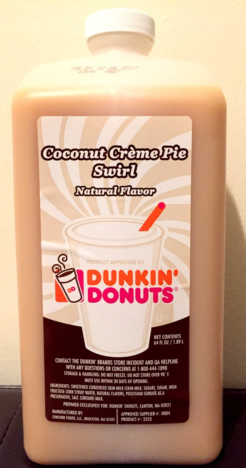 Where Can I Buy Dunkin Donuts Pumpkin Spice Syrup