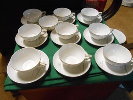 Outstanding PLATINUM WHEAT Fine China Set of 9 ... - $21.85