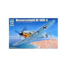 Trumpeter 1:32 Messerschmitt Bf 109F-4 plastic model fighter - $83.25