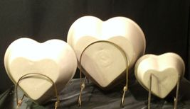 Stoneware Heart Shaped Serving Bowls AA-192037 (3 pieces) image 5