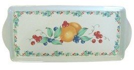 Corelle Coordinates by Reston Lloyd Melamine Tidbit Serving Tray, Abundance - €19,64 EUR