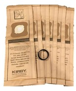 6 Genuine Kirby Micron Magic Vacuum Bags for Models G4 and G5 #197394 + ... - $14.35